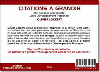 Citations à Grandir - Olivier Lockert