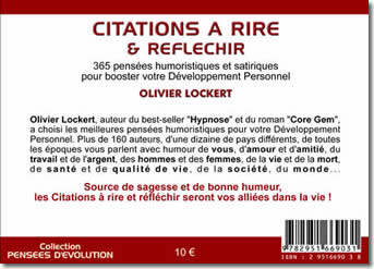 Citations à Rire & Réfléchir - Olivier Lockert